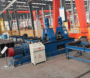 The Steel H Beam Straightening Machine