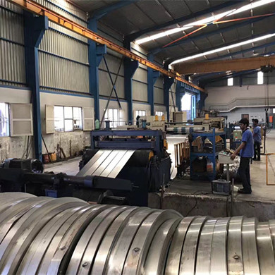 Slitting line in Algeria
