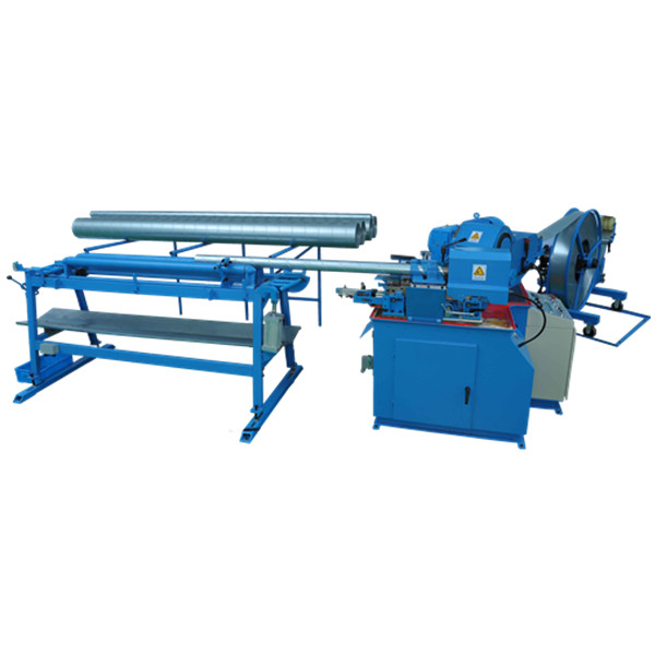 Spiral Tube Forming Machine - Metmac