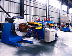 Logistic Shelf Roll Forming Line 02