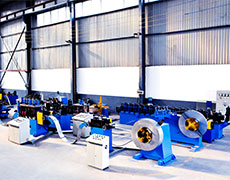 Logistic Shelf Roll Forming Line 03