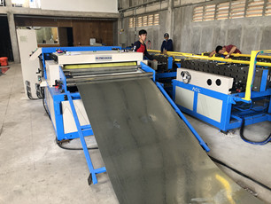 duct manufacture auto line