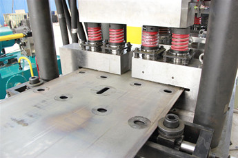 Highway Guardrail Plate Production Line W-Beam